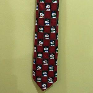 Novelties Christmas/snowman tie